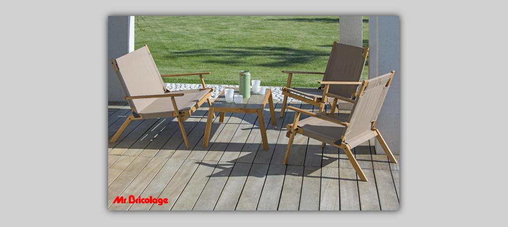 Градински мебели от Бриколаж