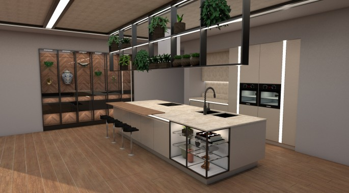 модулна кухня